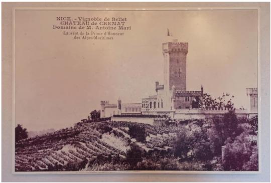 photo époque Château de Crémat